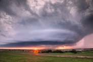 Fairview, Oklahoma supercell 5/6/15.