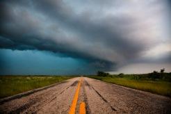 The tornado producing HP supercell North of Wichita Falls, Texas 5/8/15