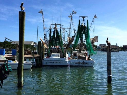 Ocracoke Dock, 2015.