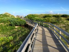 Ocracoke boardwalk, 2015.