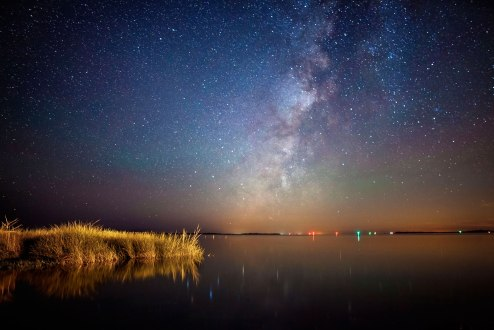 Pamlico Sound Milky Way