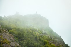 Grandfather Mountain peak, NC