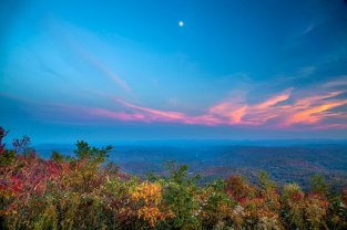 Blue Ridge Parkway at Night. 2015.