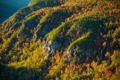 Linville Gorge cliffs. 2015.