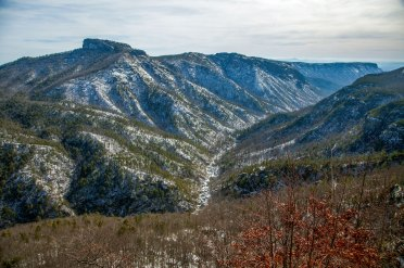 Winter at Linville Gorge, NC. 1/25/16
