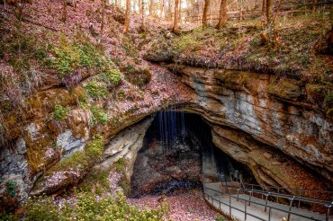 Entry of Mammoth Cave National Park. 2017.