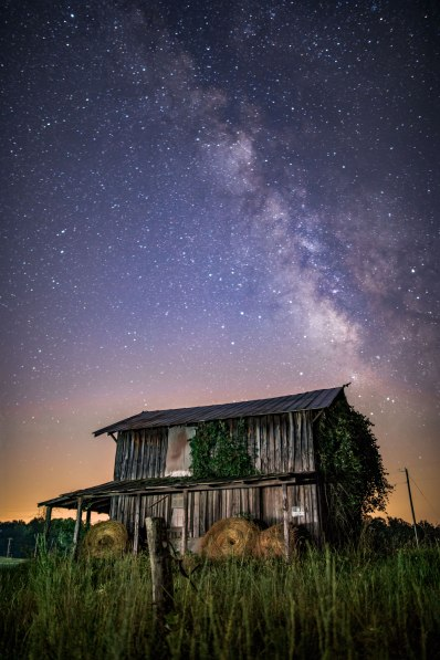 farm, Milky Way, North Carolina,