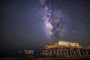 Milky Way, nc, North Carolina, night
