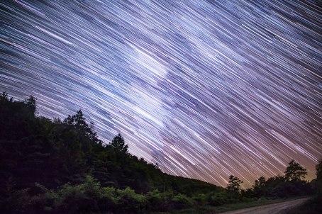 virginia, Grayson highland, nc, Milky Way