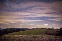 doughty park, North Carolina, starry night, stars, moon
