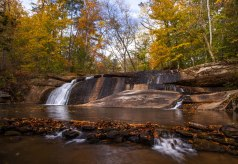 fall creek falls, waterfall, North Carolina, mayo river