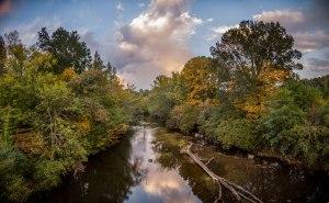 uwharrie river, uwharrie, North Carolina, autumn