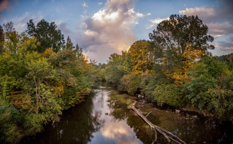 uwharrie river, uwharrie, North Carolina, autumn