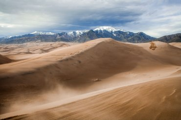 great sand dunes, national park, Colorado
