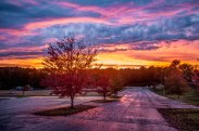 Greensboro, sunset, nc