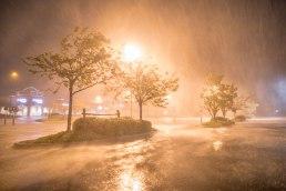 Hurricane Florence Eyewall, in Wilmington NC