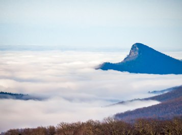 table rock, beacon heights. blue ridge parkway, North Carolina