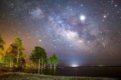 cypress, Milky Way, Lae mattamuskeet